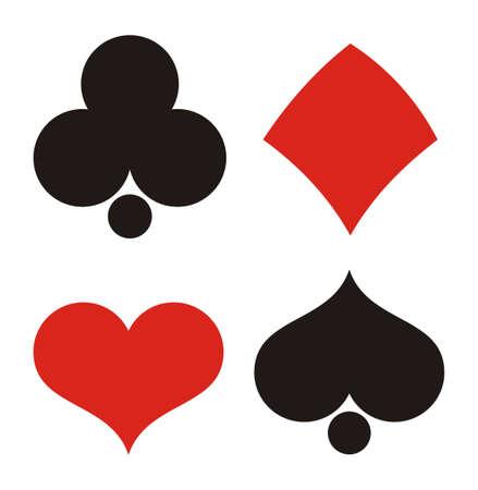 에이스: 벡터에서 카드 놀이 일러스트