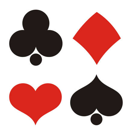 Playing cards in vector Stock Vector - 12063535