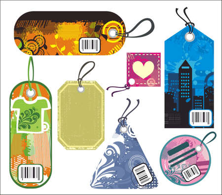 tags Stock Vector - 12070826
