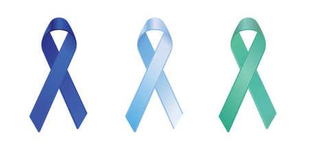 cancer ribbon: child abuse, prostate and liver cancerhepatitis b awareness ribbons