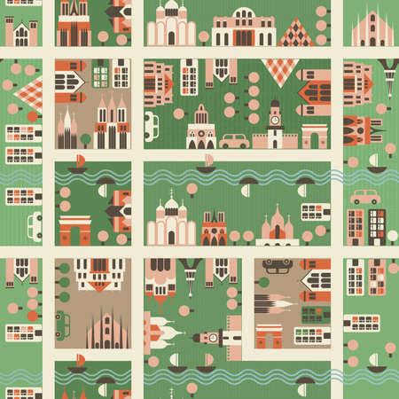 home moving: mapas sin fronteras de la ciudad
