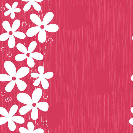 seamless spring pattern with space for your text  Vector