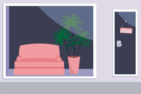 furniture shop: furniture shop Illustration