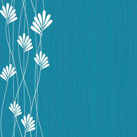 수직의: 푸른 봄 패턴