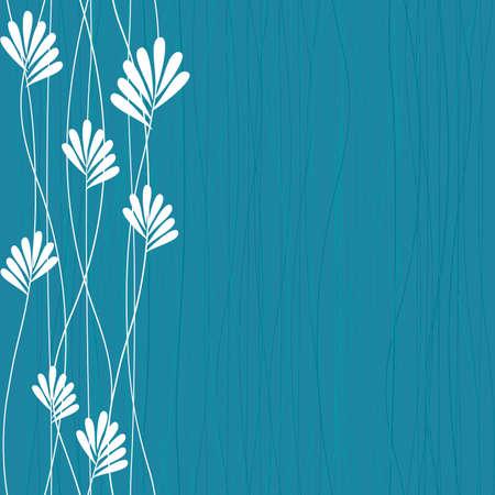 blue spring pattern