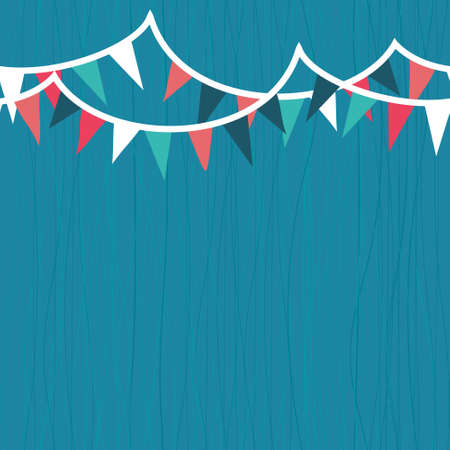 bunting flag: party seamless background