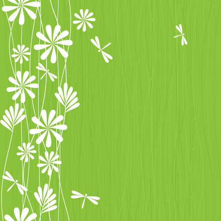 vertical lines: seamless spring pattern Illustration