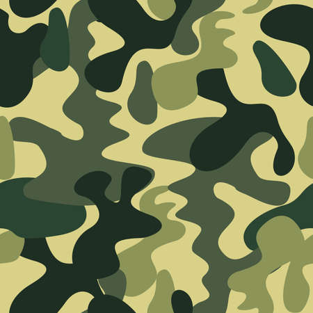 Camouflage Background Illustration