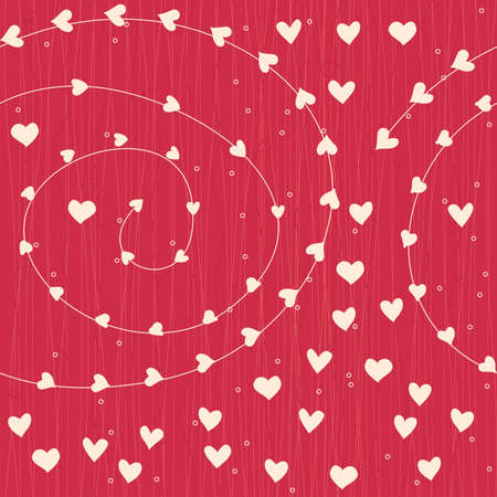 seamless hearts  Vector