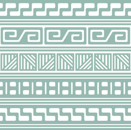 basic shapes: seamless retro pattern for textile, wallpaper