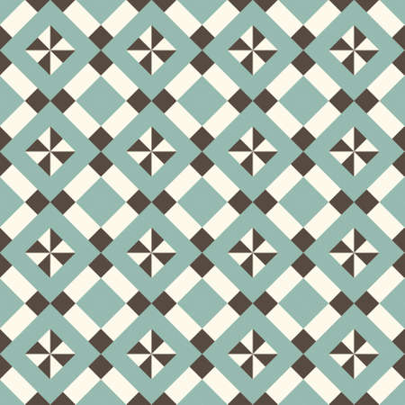seamless retro pattern for textile, wallpaper Vector