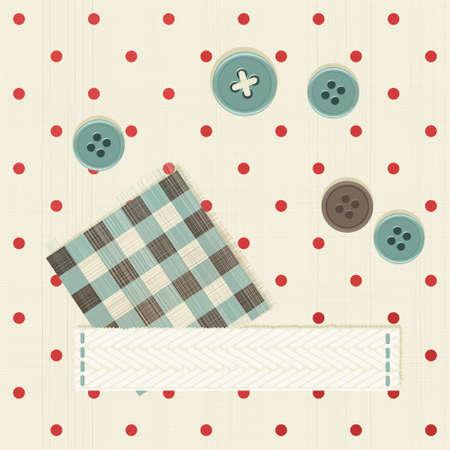 polka dot fabric: senza soluzione di tessuto a pois con la bandiera