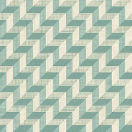 3d seamless zigzag pattern in blue and grey, pyramid Vector