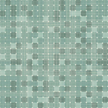 seamless retro squares seamless pattern in blue  Vector