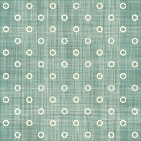 seamless polka dot pattern in retro blue  Vector