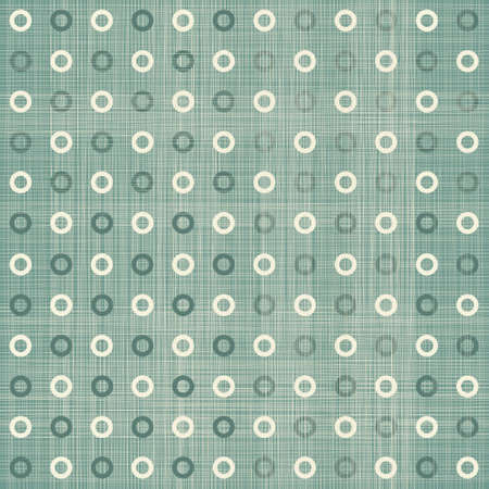 seamless polka dot pattern in retro blue