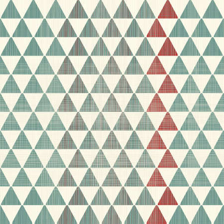 abstract textures triangles seamless pattern Vector