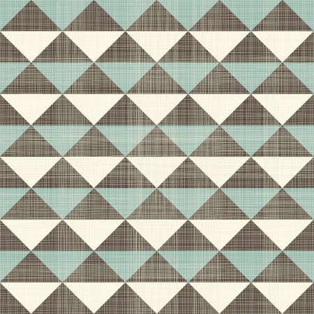 menswear: retro geometric triangles seamless pattern