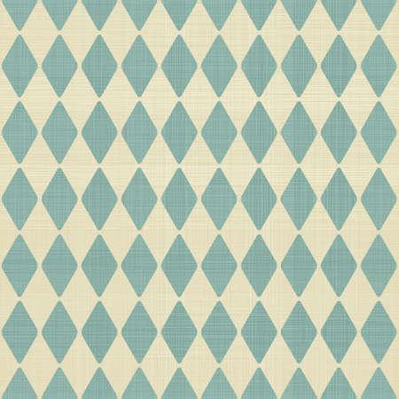 harlekijn: abstracte geometrische retro naadloze blauwe en grijze achtergrond Stock Illustratie
