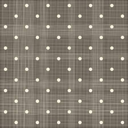 brown polka dot seamless textured pattern  Vector