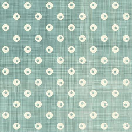 seamless polka dot pattern in retro blue  Stock Vector - 16927250