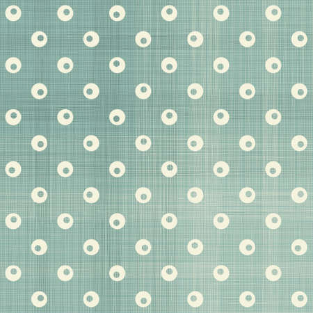 seamless polka dot pattern in retro blue Stock Vector - 16927250