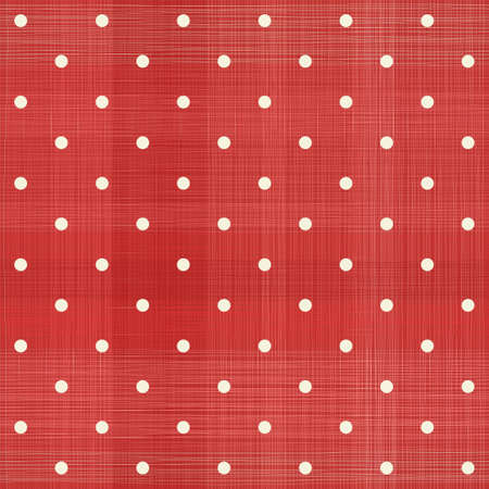 decoratively: retro red polka dot seamless pattern