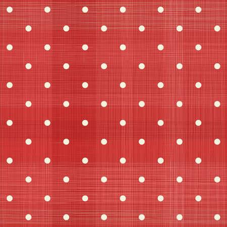 polka dot: retro red polka dot seamless pattern