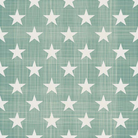 white star line: seamless stars pattern in retro blue