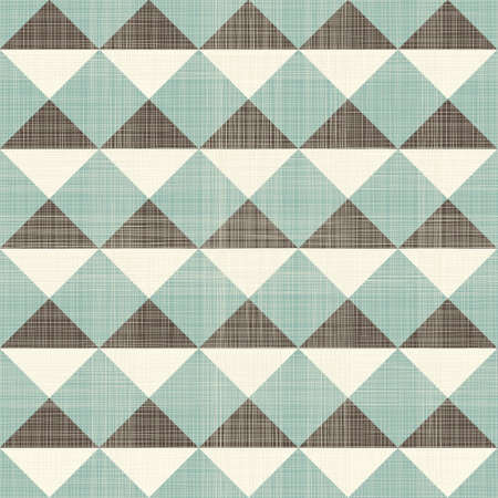 menswear: retro geometric triangles seamless pattern