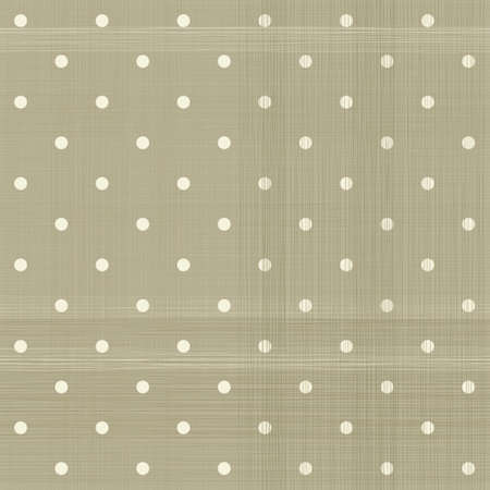 linen texture: faded brown polka dot seamless textured pattern Illustration