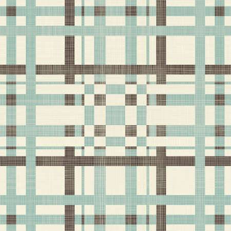 quilt: abstract geometric retro seamless blue, brown and grey background