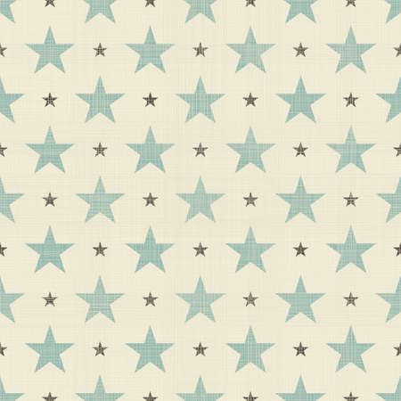patriotic stars seamless Vector