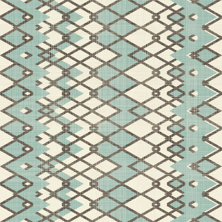 abstract seamless ornament in texture and retro colors Vector