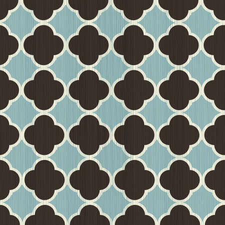 indian pattern: indian traditional seamless pattern with fabric texture on Illustration