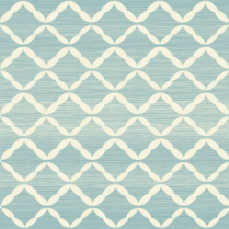 traditional seamless pattern with fabric texture on Vector
