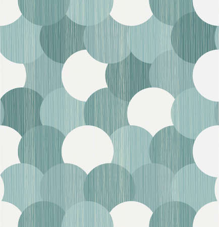 abstract circles seamless background Ilustrace