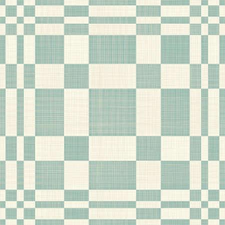 twill: geometric retro seamless pattern Illustration