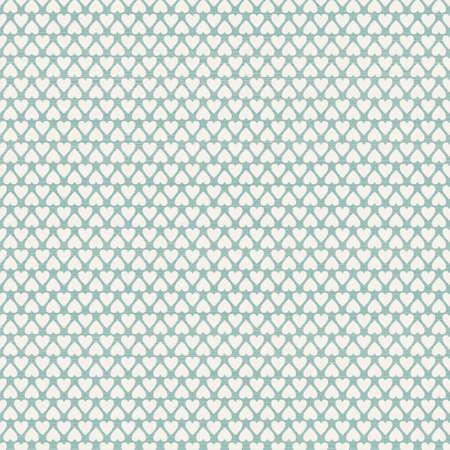 pattern pois: Cuori senza saldatura serie a pois con texture retr?