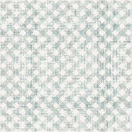 retro geometric seamless pattern with fabric texture on Vector