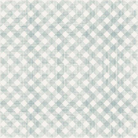 twill: retro geometric seamless pattern with fabric texture on