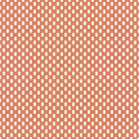 abstract geometric seamless pattern in faded orange Stock Vector - 22060109
