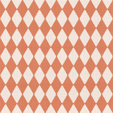 abstract geometric seamless pattern in faded orange Stock Vector - 22132943