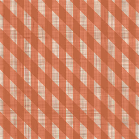 abstract geometric seamless pattern in faded orange Vector