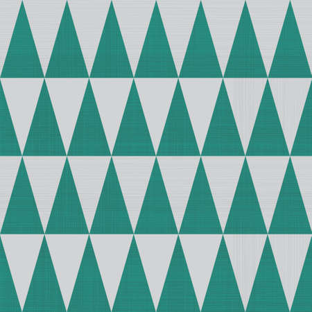 basic: abstract textures triangles seamless pattern in green and grey