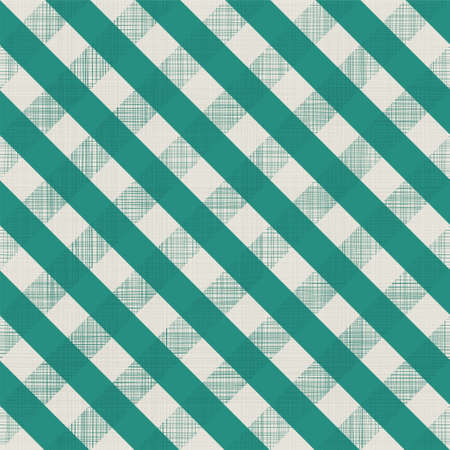 abstract retro geometric background in green and grey with seamless texture pattern Vector