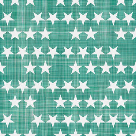 seamless stars pattern in retro faded green Stock Vector - 26547864