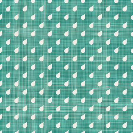 abstract drops seamless pattern with fabric texture Vector