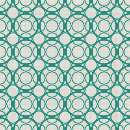 retro abstract seamless background with fabric texture in green and grey