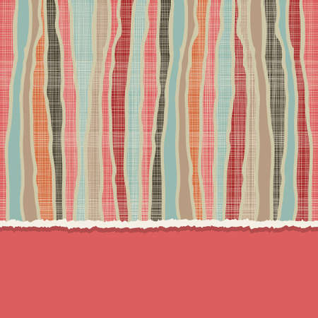 lacerated: card with seamless colorful abstract pattern Illustration